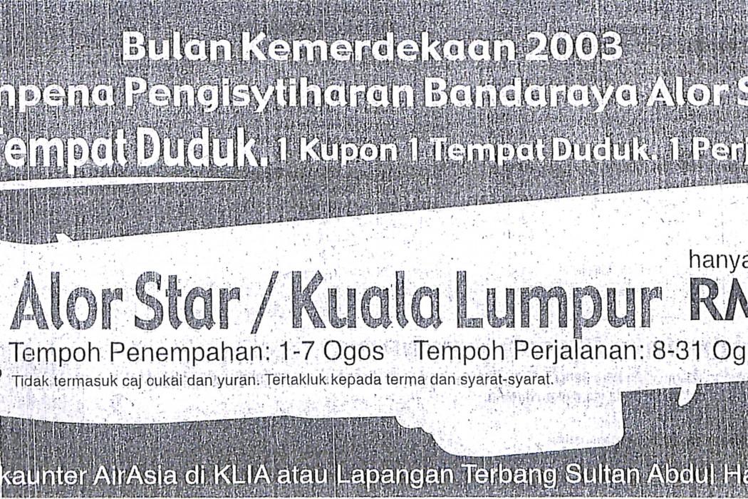 Alor StarKuala Lumpur hanya RM29.99