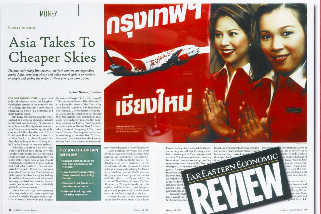 Asia Takes To Cheaper Skies