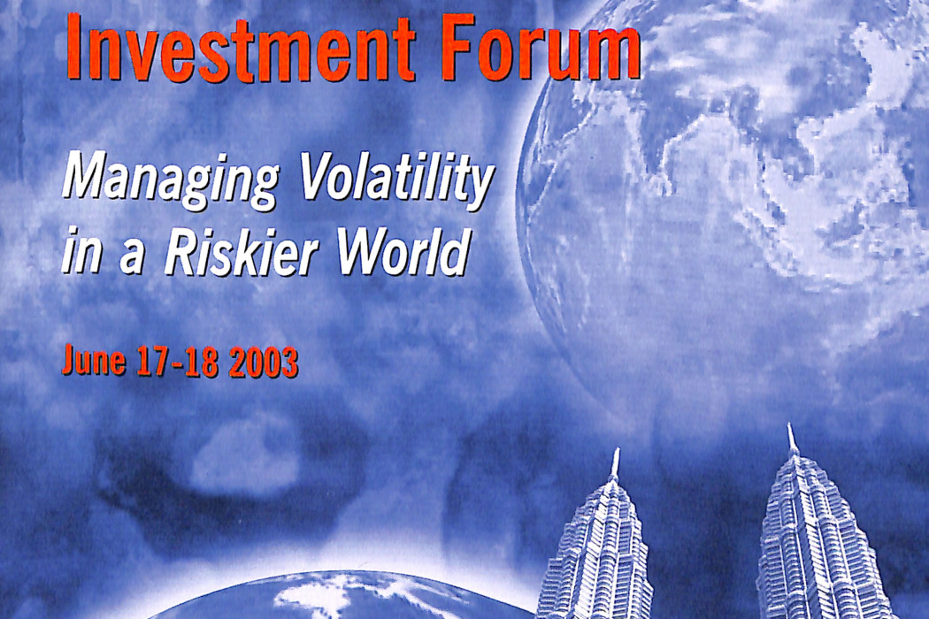 Asiamoney_ The 2003 RHB Investment Forum (1)
