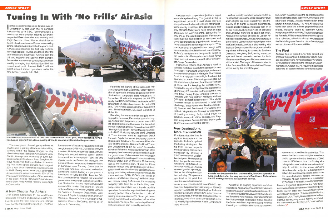Asian Commercial Aviation Volume 5 No. 3 - June 2002 (2)