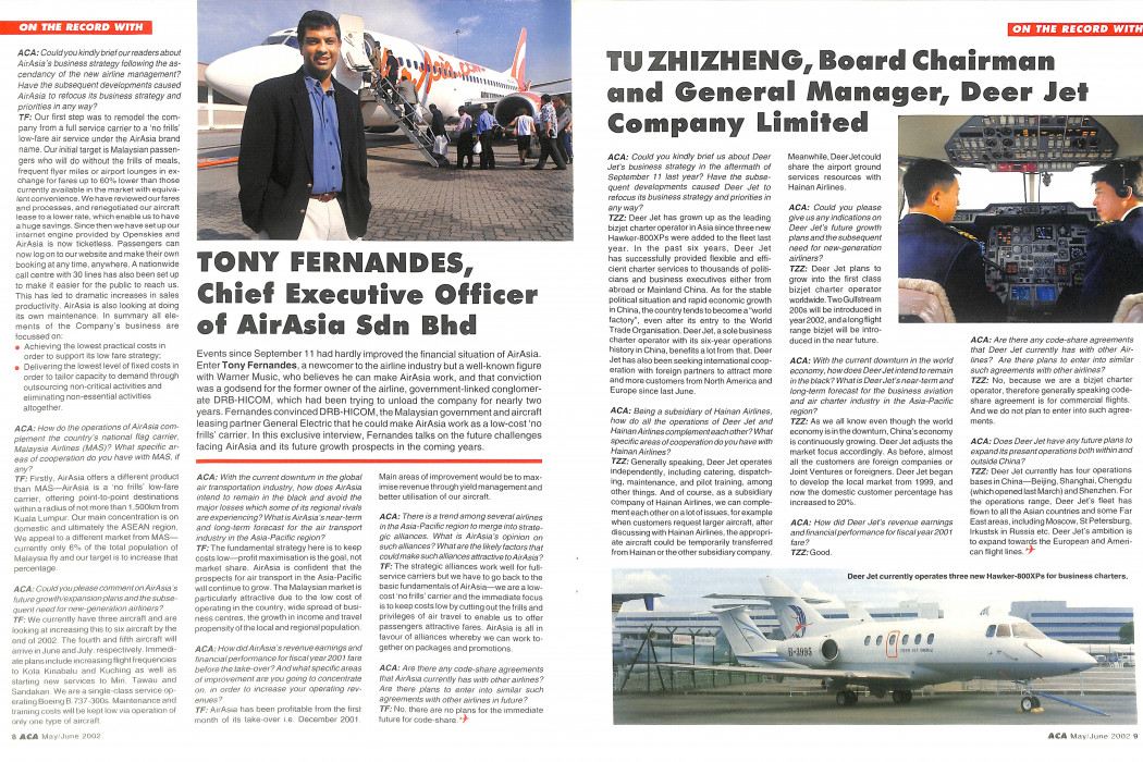 Asian Commercial Aviation Volume 5 No. 3 - June 2002 (3)