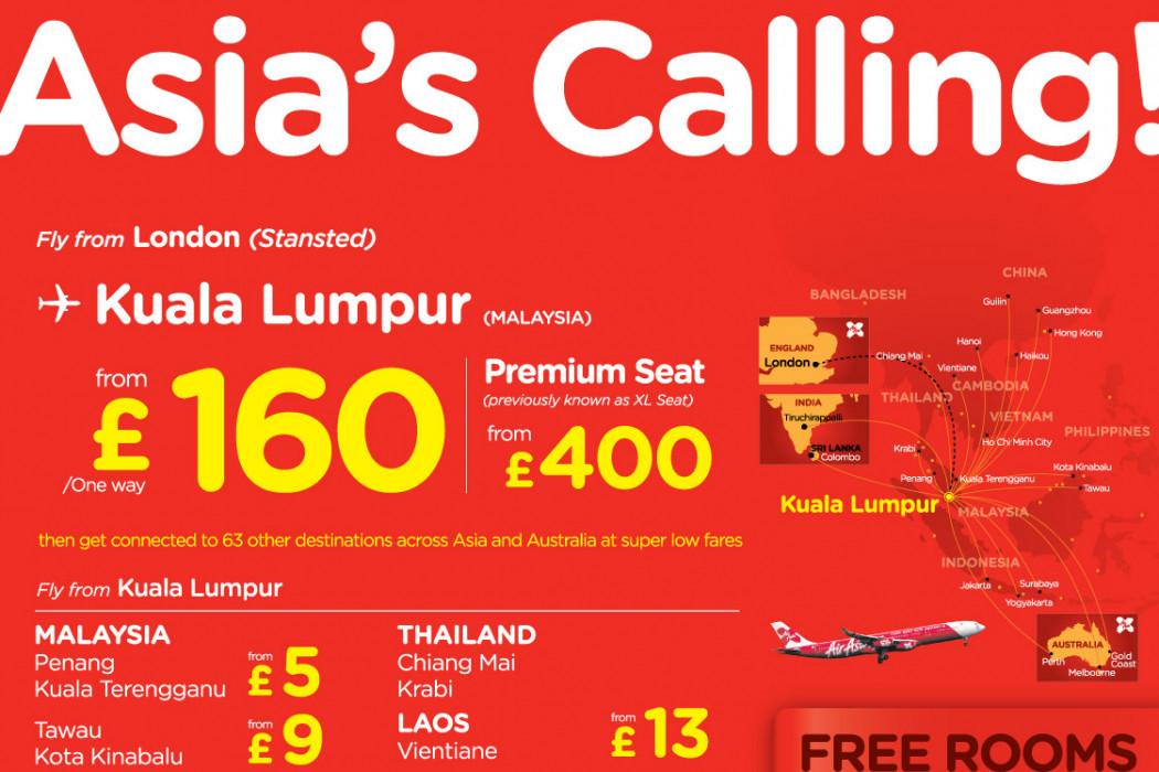 Asia's Calling!