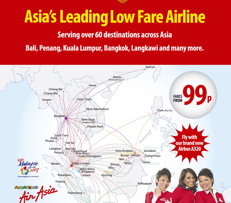 Asia's Leading Low Fare Airline