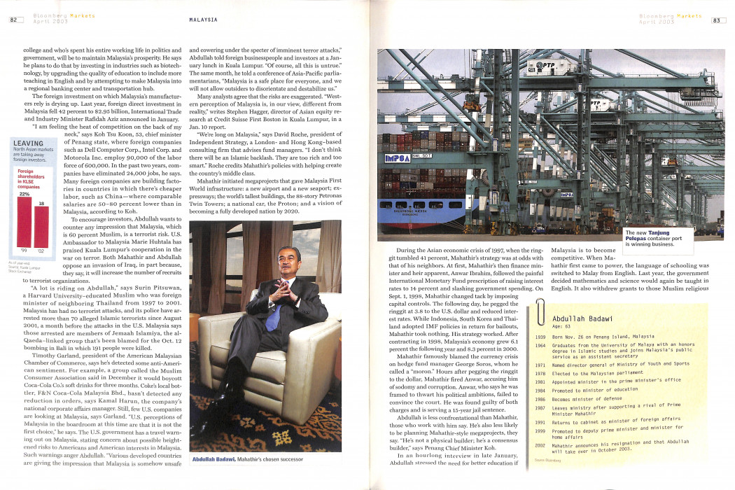 Bloomberg Markets - April 2003 (3)