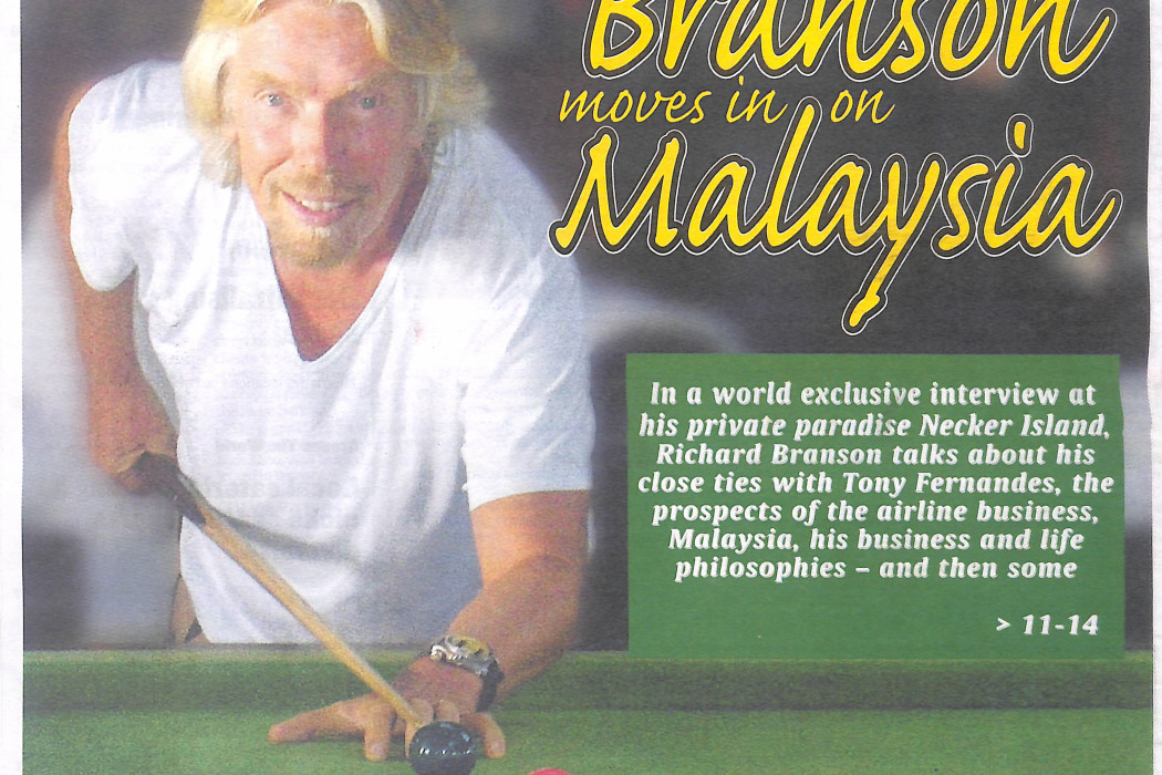 Branson moves in on Malaysia - 01