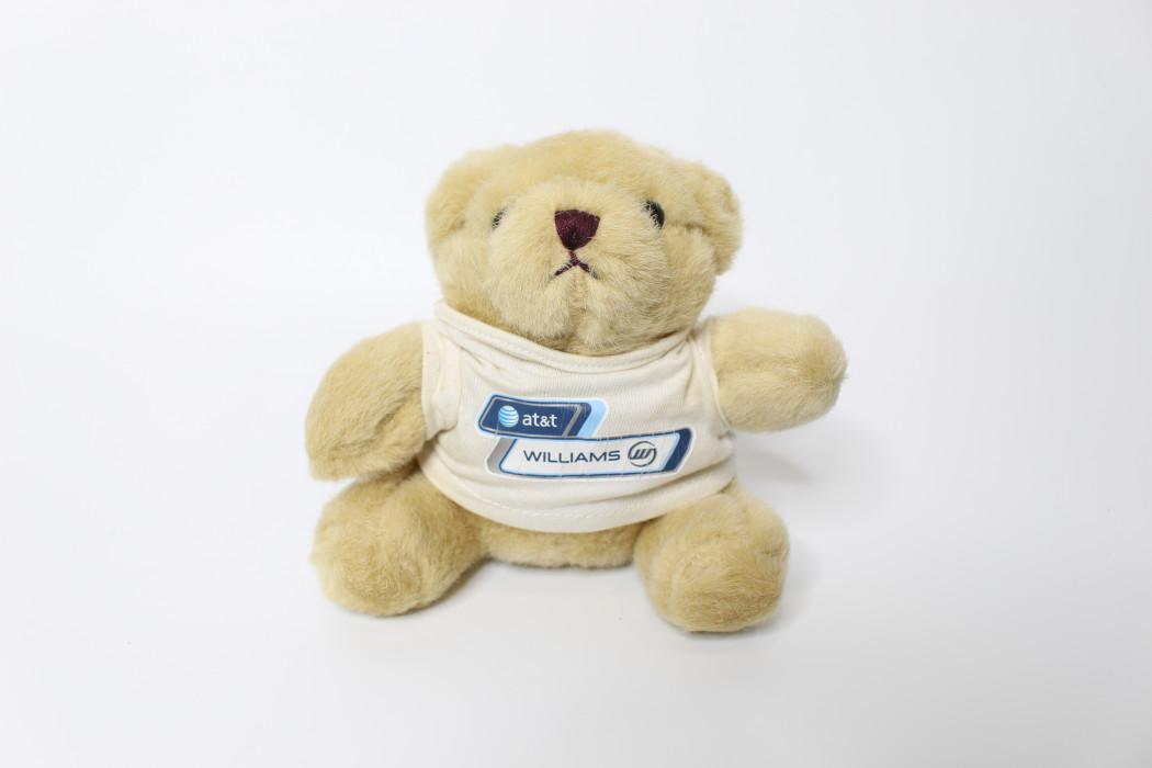 Brown teddy bear (at&t Williams) (1)