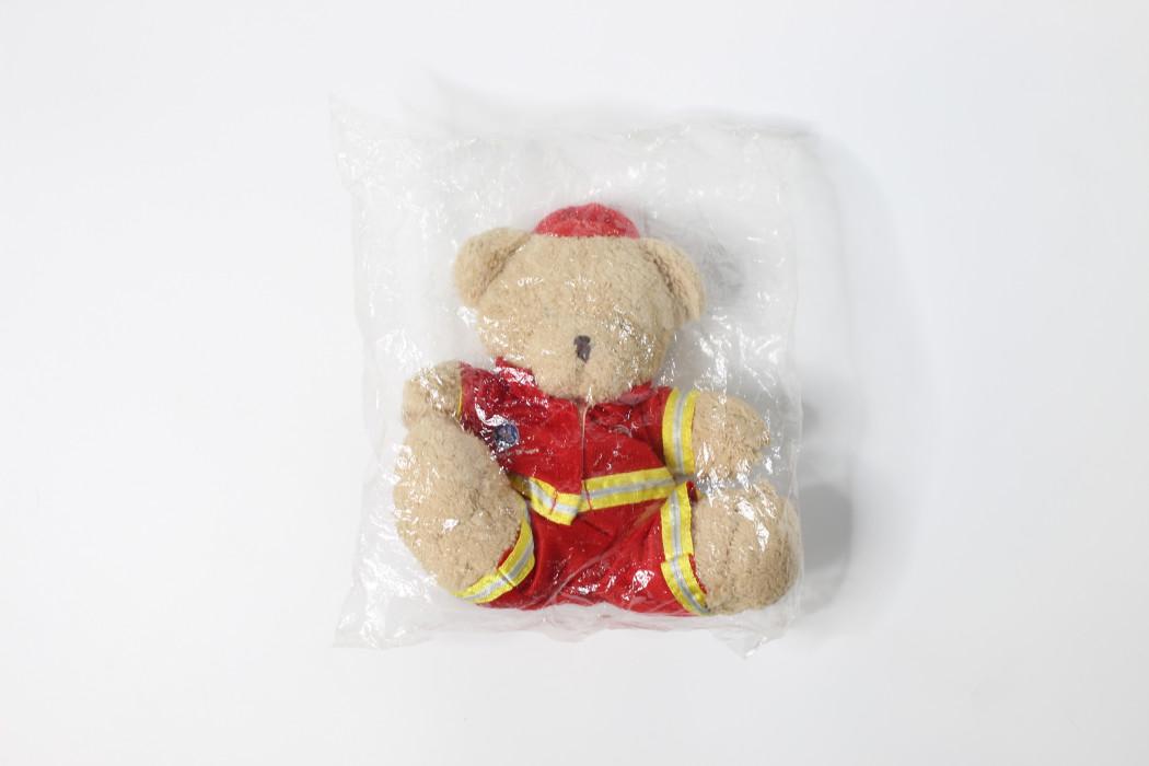 Brown teddy bear (ramp uniform)