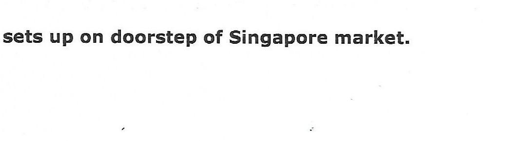 Budget airline airasia sets up on doorstep of Singapore market (1)