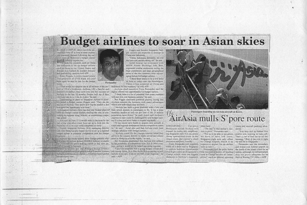 Budget airlines to soar in Asian skies