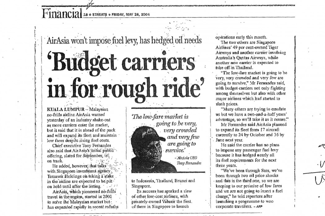 'Budget carriers in for rough ride'