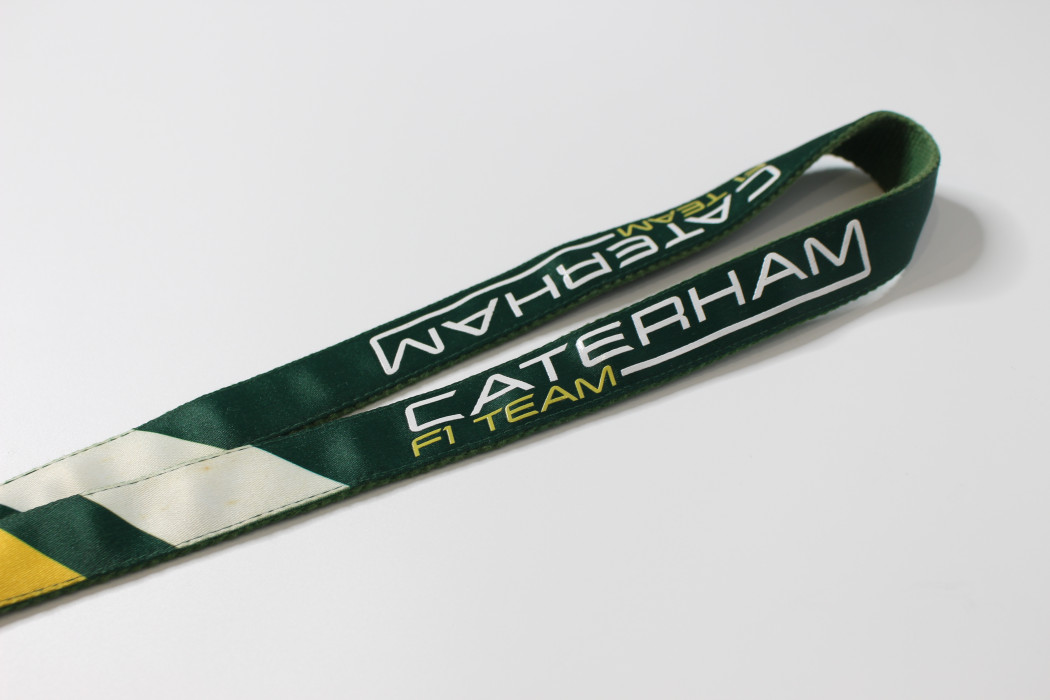 Caterham F1 Team (thick material) (2)