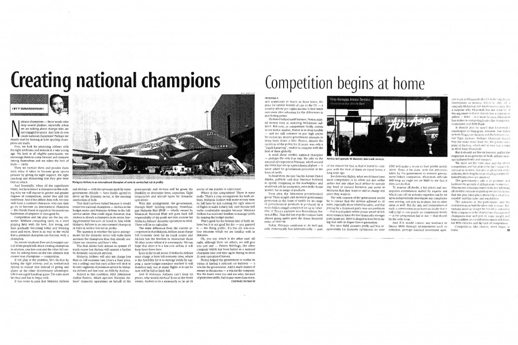 Creating national champions