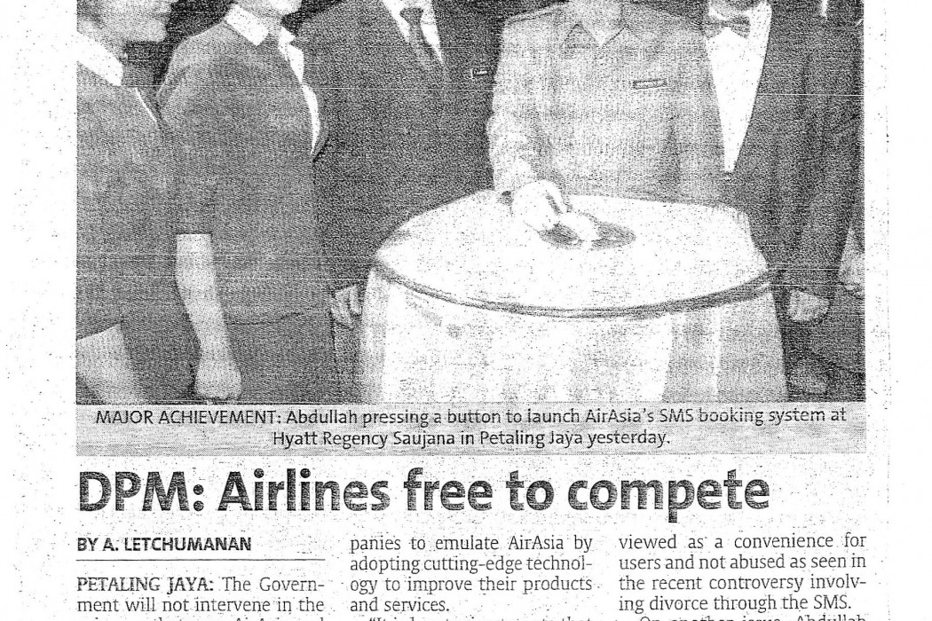DPM Airlines free to compete