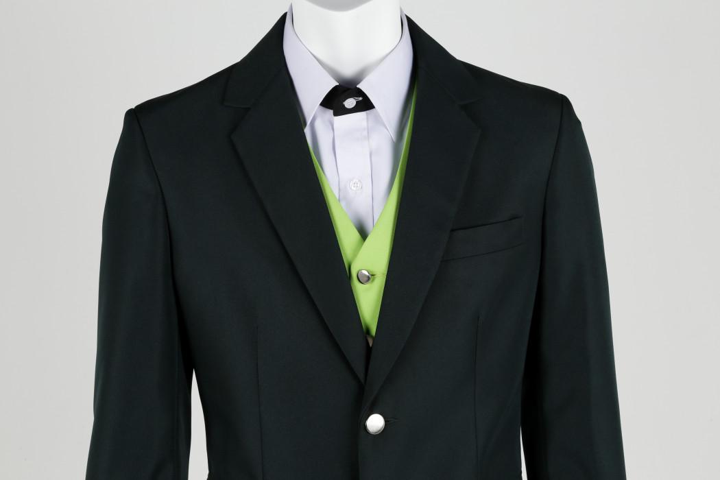 DRB-HICOM Male cabin crew uniform details