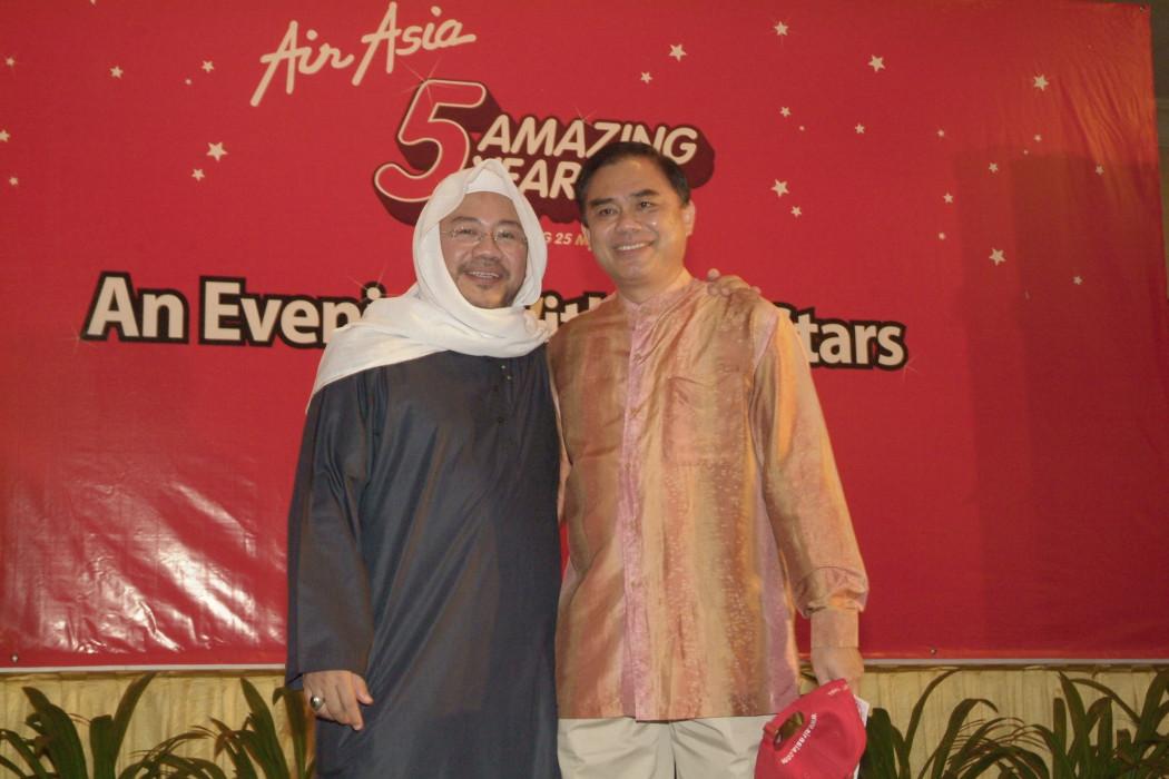 Datuk Kamarudin Meranun and Captain Chin