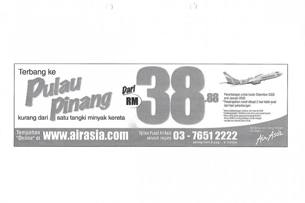 Fly to Pulau Pinang from RM38.88.