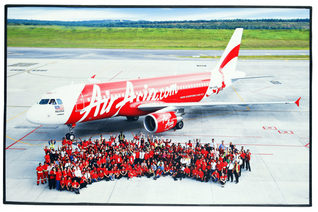 Farewell Photo For Boeing 737, Welcoming Boeing A320 (before Ceremony)