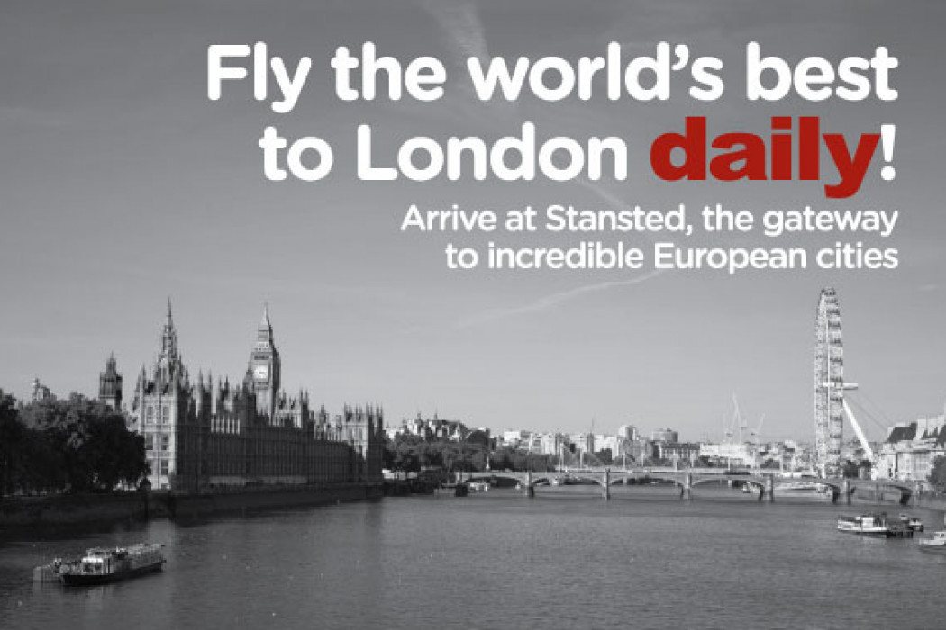 Fly the world's best to London daily!