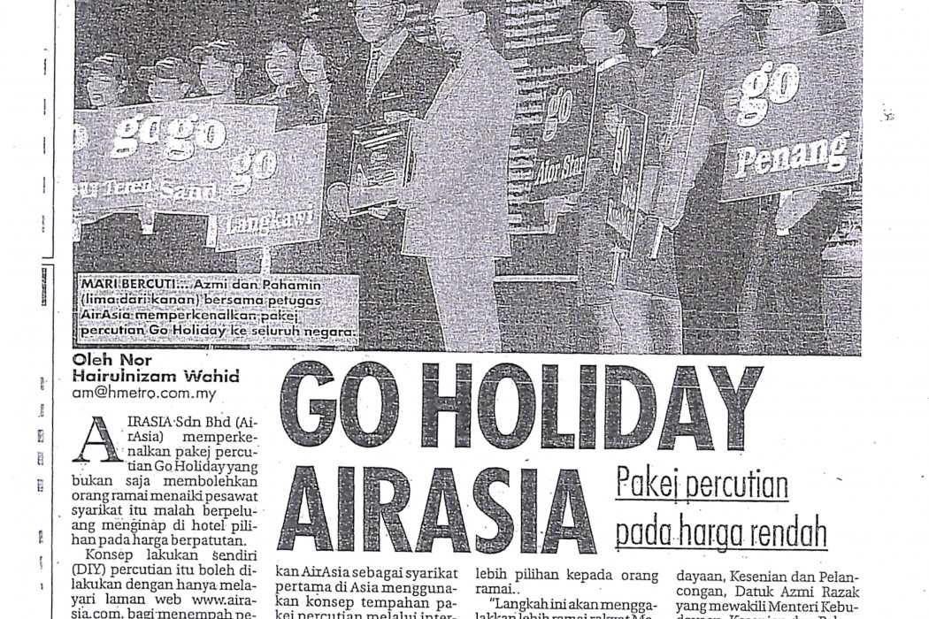 Go Holiday airasia