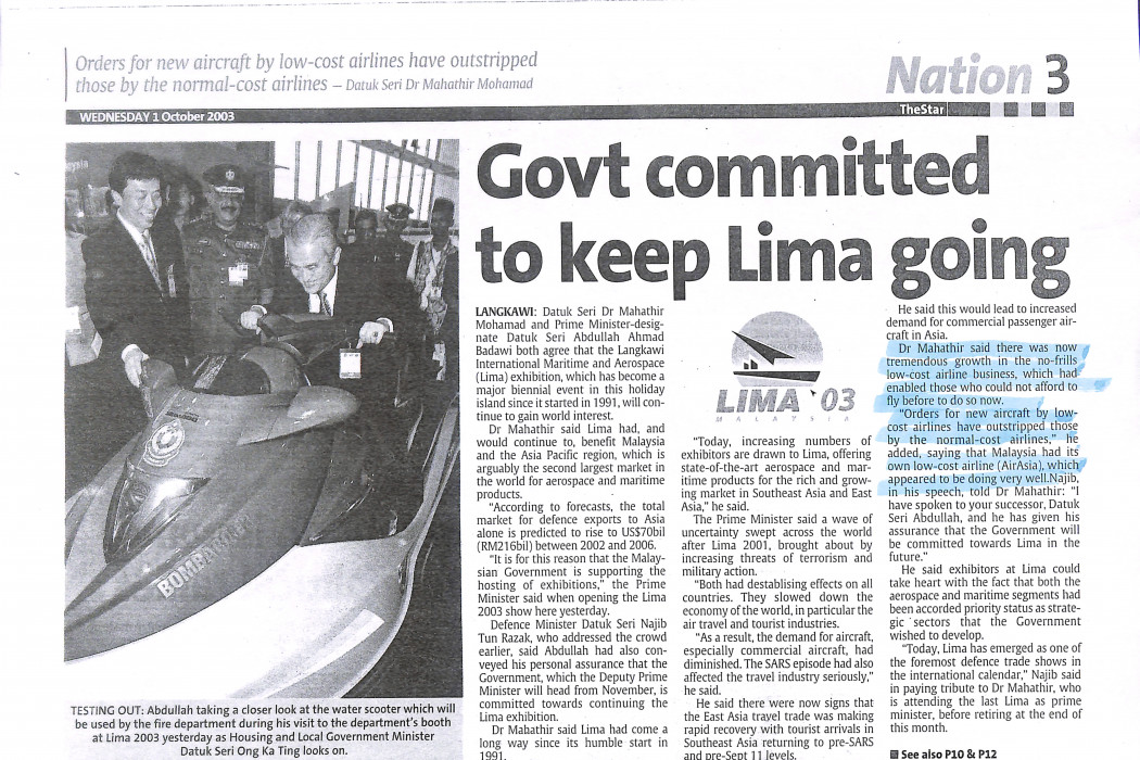 Govt committed to keep Lima going
