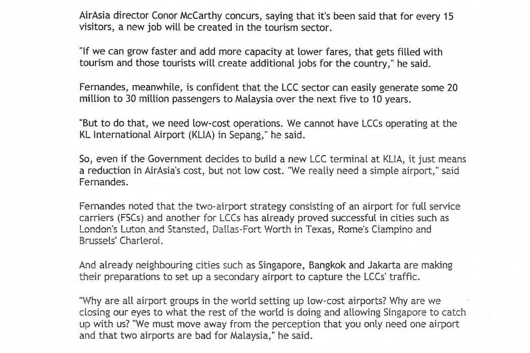Govt to study and decide on Subang airport - 02