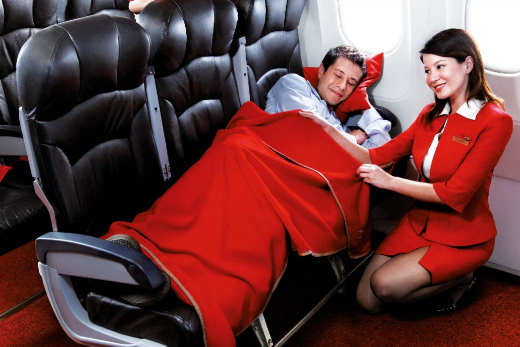 Have you Flown airasia.com - Coolest flat bed ever.
