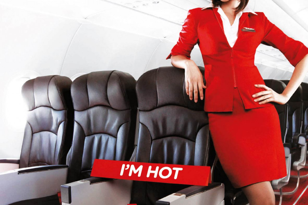 Have you Flown airasia.com - Now taking reservations. The seat, not the girl.