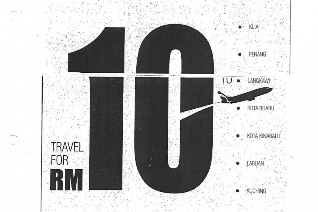 29th July 2002: 'Unbelievable! Log-in to www.airasia.com. Travel for RM10.'