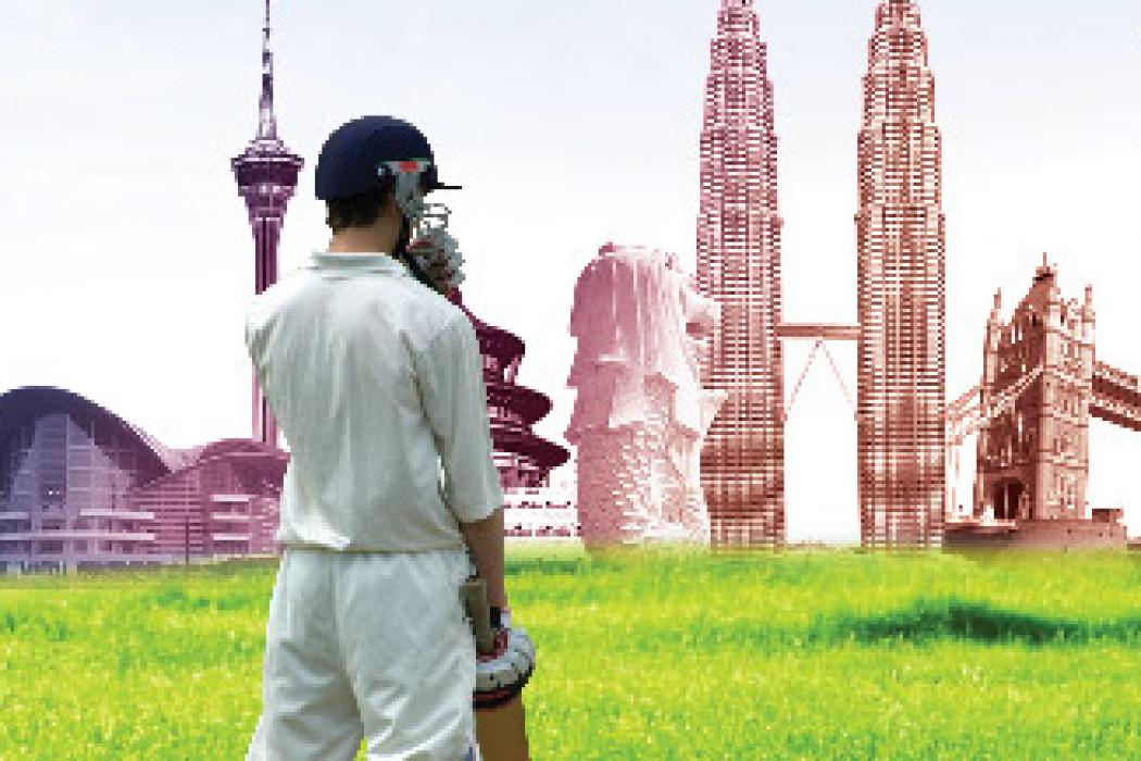 Kuala Lumpur and beyond for less than a cricket game!
