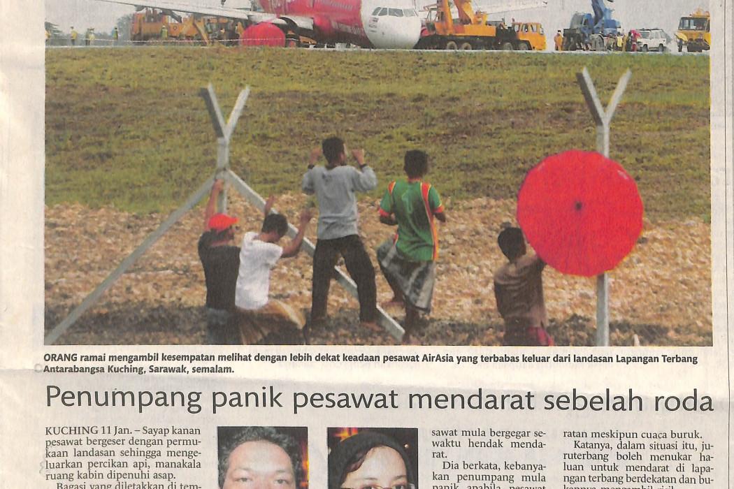Lapangan Terbang Antarabangsa Kuching dibuka semula