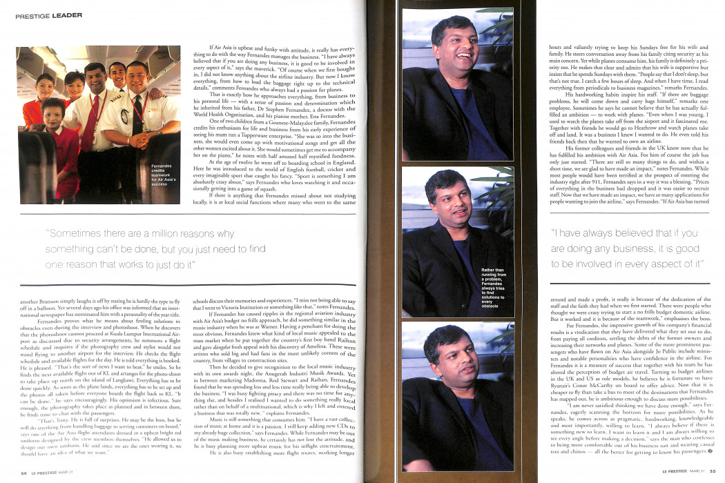 Le Prestige - March 2003 (3)