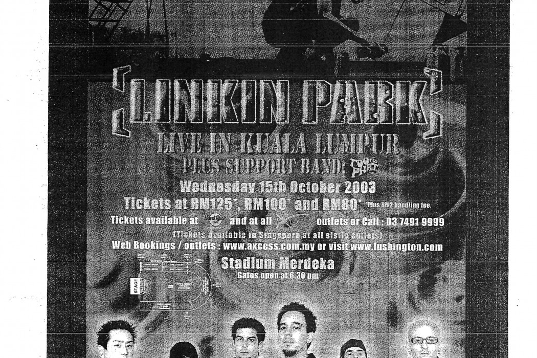 Linkin Park Live in Kuala Lumpur; Plus Support Band Too Phat