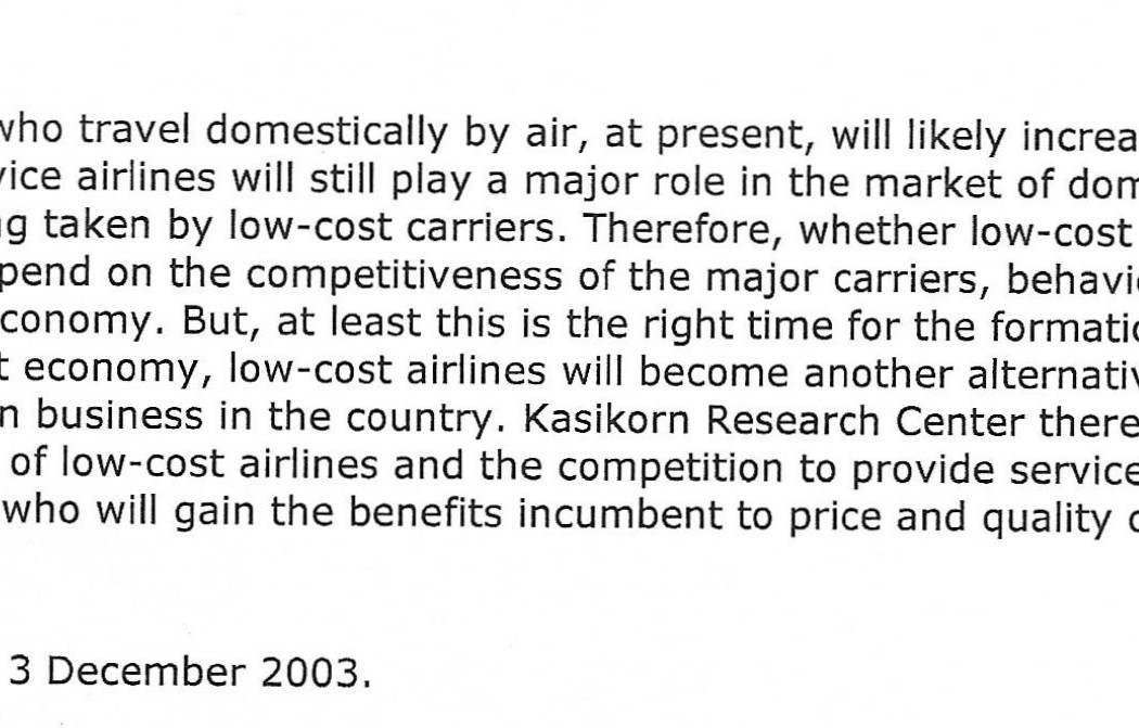 Low-cost airlines... New Era of Competition (2)