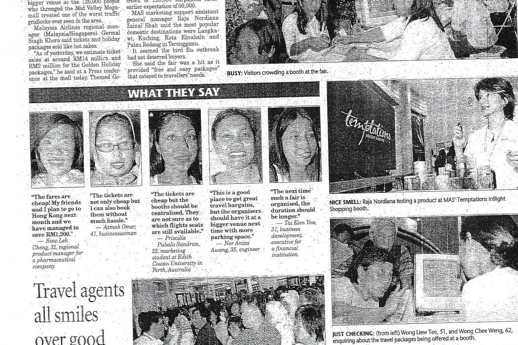 MAS travel fair a huge success