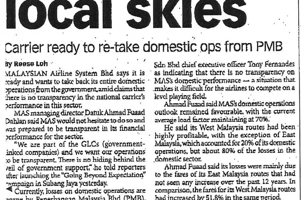 MAS wants local skies - 01