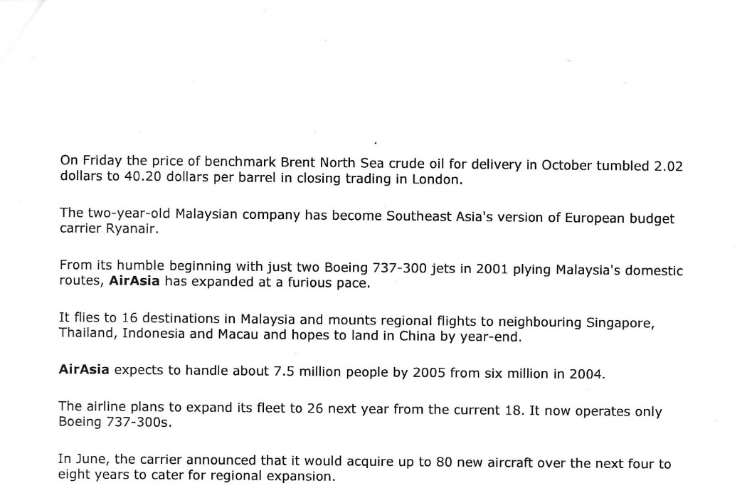 Malaysian budget carrier airasia gets okay for IPO (2)
