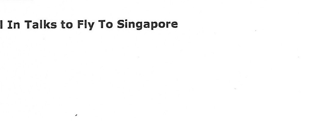 Malaysia's airasia Still in Talks to Fly to Singapore (1)