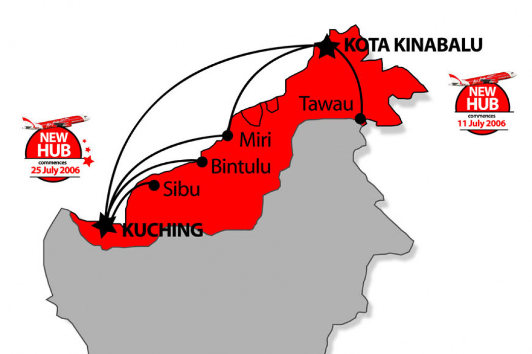 More flights, more low fares in East Malaysia!