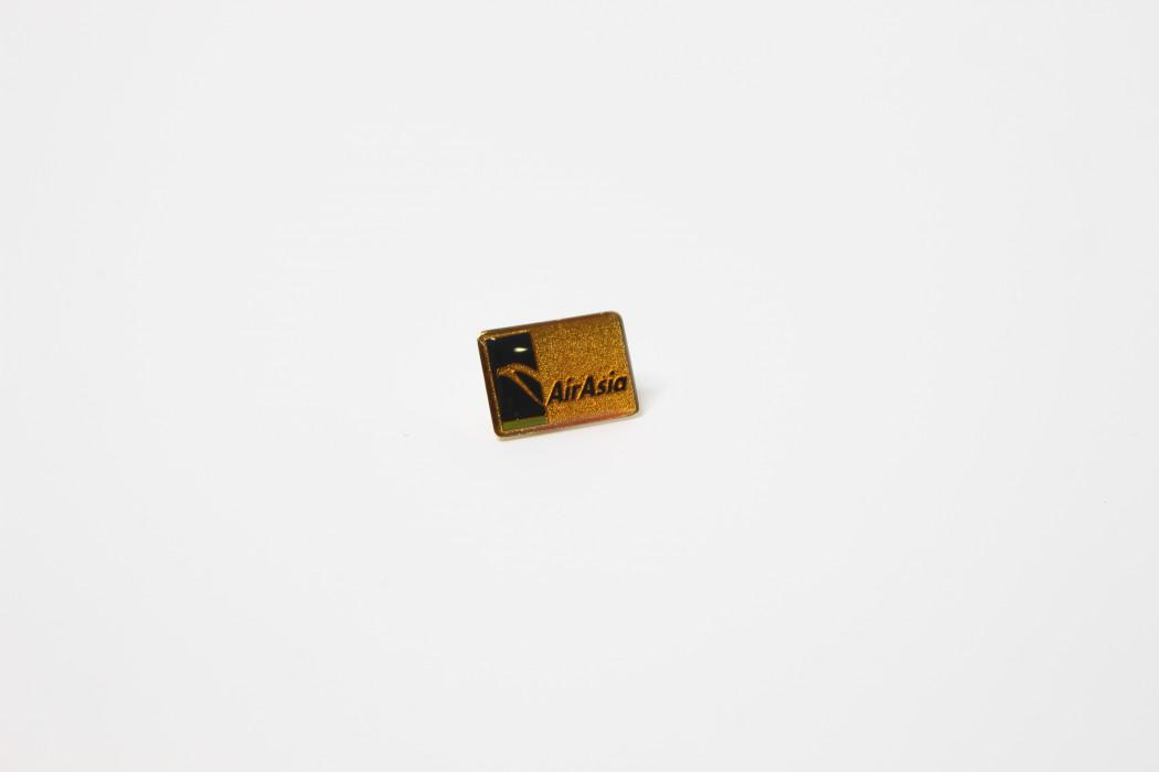 Ong Soon Yee airasia square enamel pin - DRB HICOM (1)