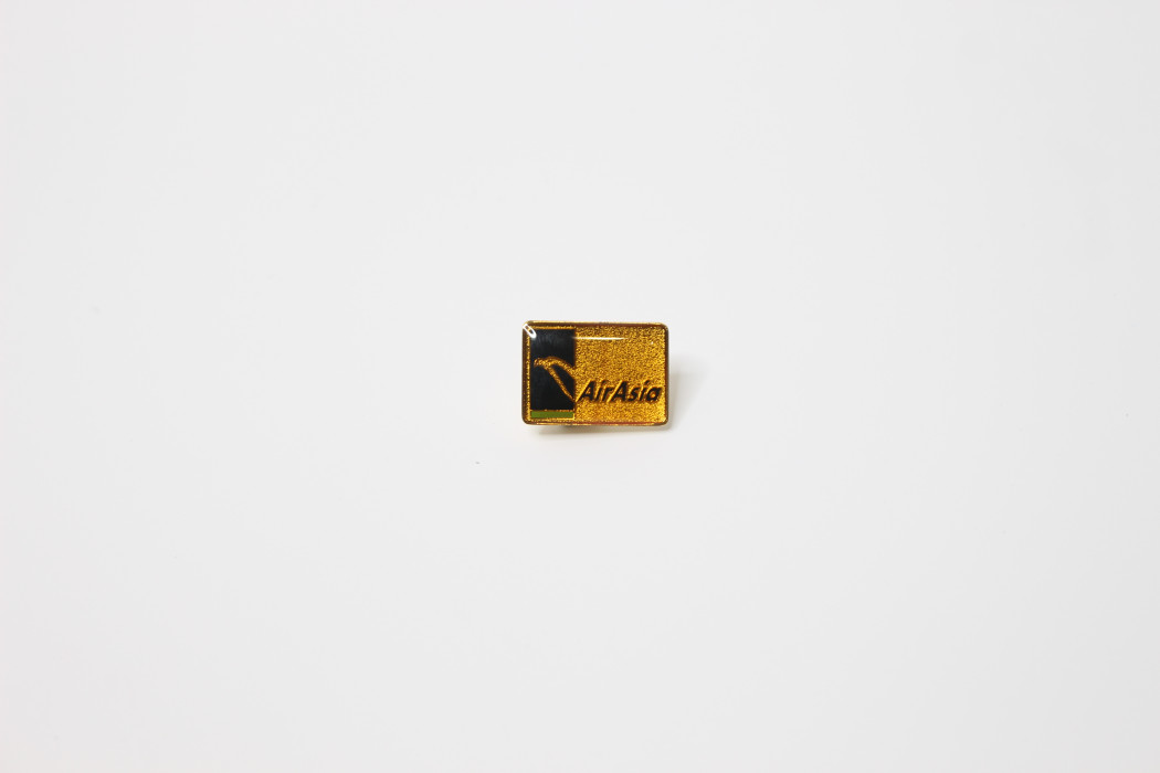 Ong Soon Yee airasia square enamel pin - DRB HICOM (2)