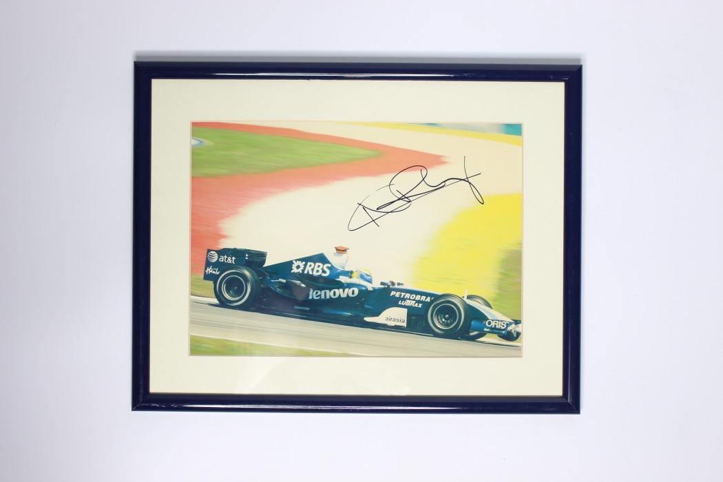 Photo of airasia sponsored F1 car
