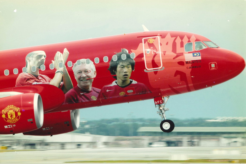 Photo Of Manchester United Livery On An Airbus