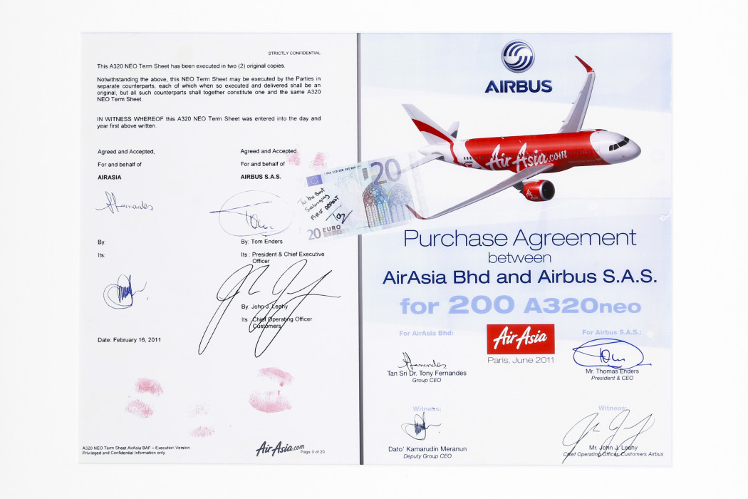 Purchase Agreement Between airasia Bhd And Airbus S. A. S. For 200 A320neo