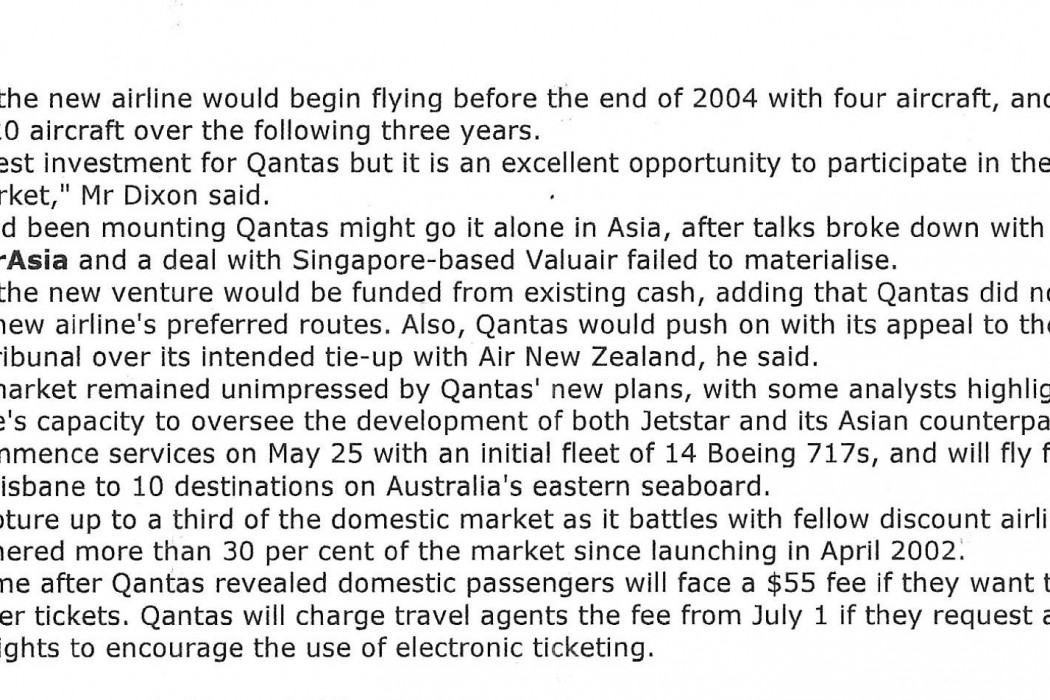 Qantas flies into another discount airline - 02