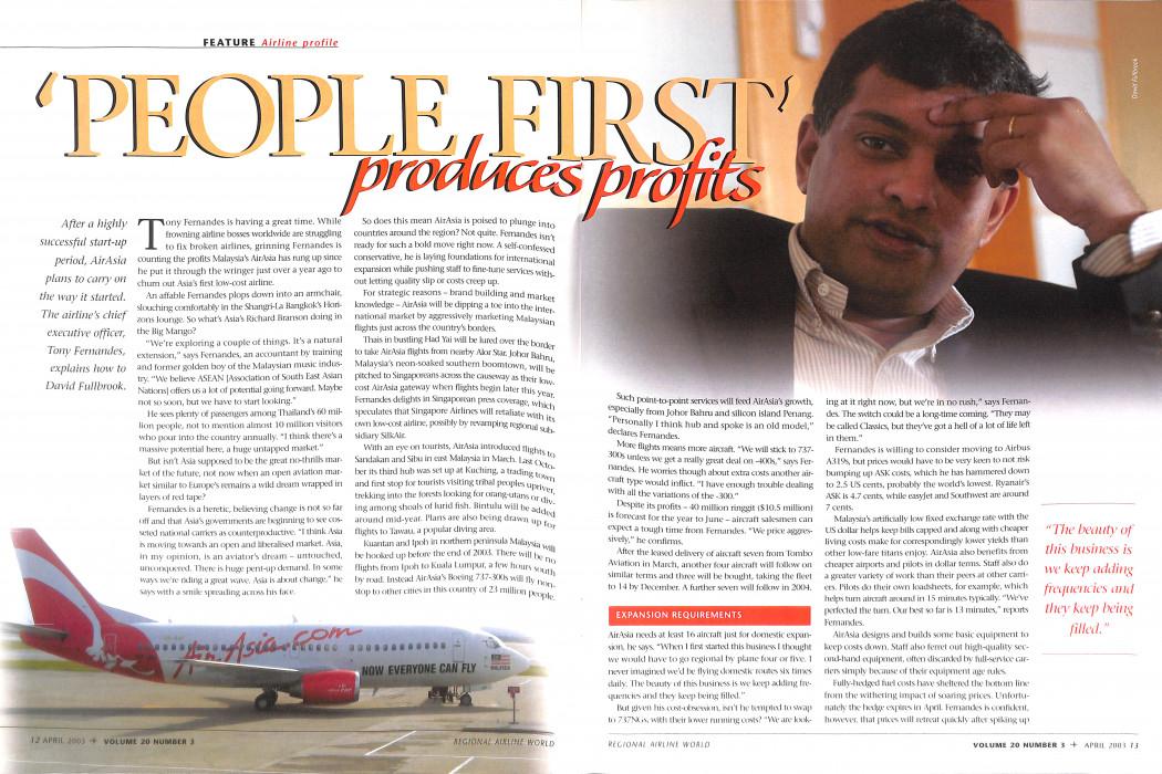 Regional Airline World - April 2003 (2)