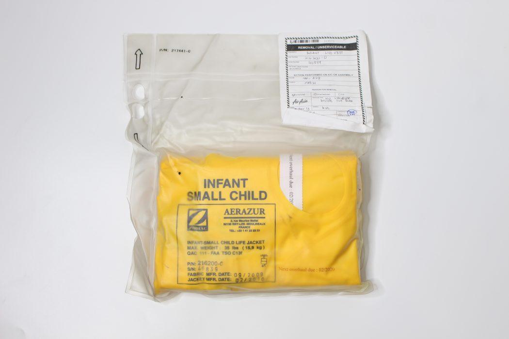Removed Infant Life Vest (1)