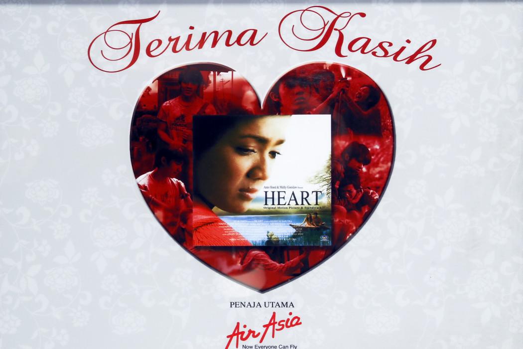 Terima Kasih airasia Kerana Menyokong OST Heart