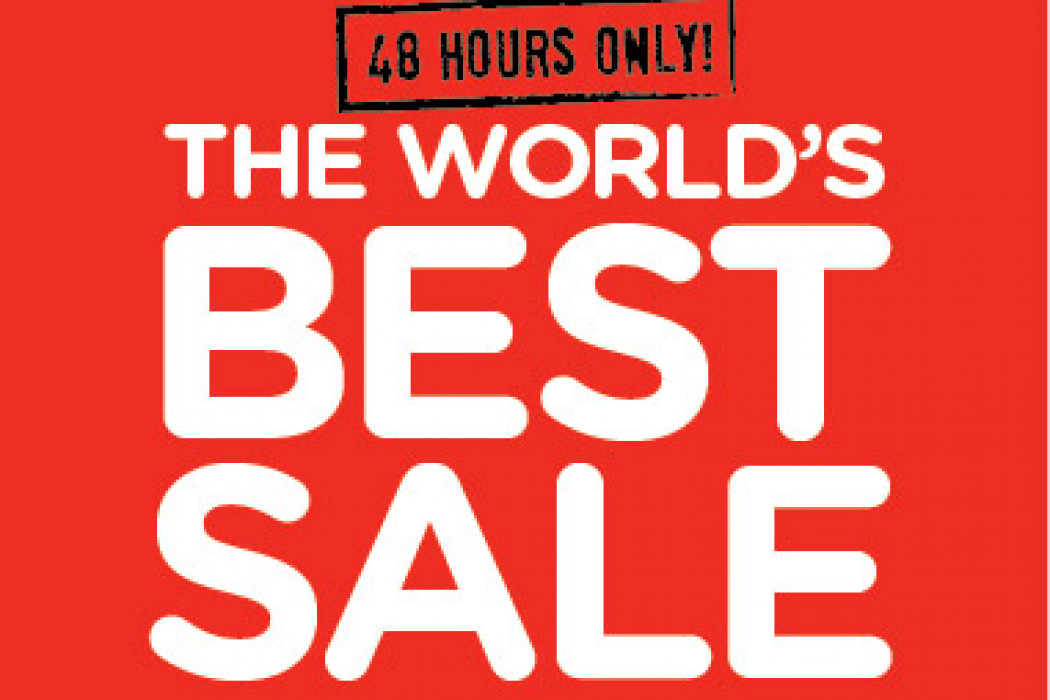 The World's Best Sale