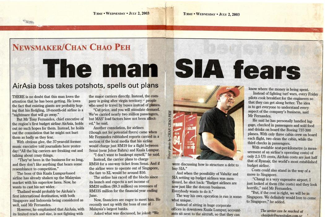 The man SIA fears