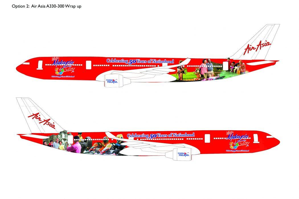 Visit Malaysia Plane Livery Design (2)